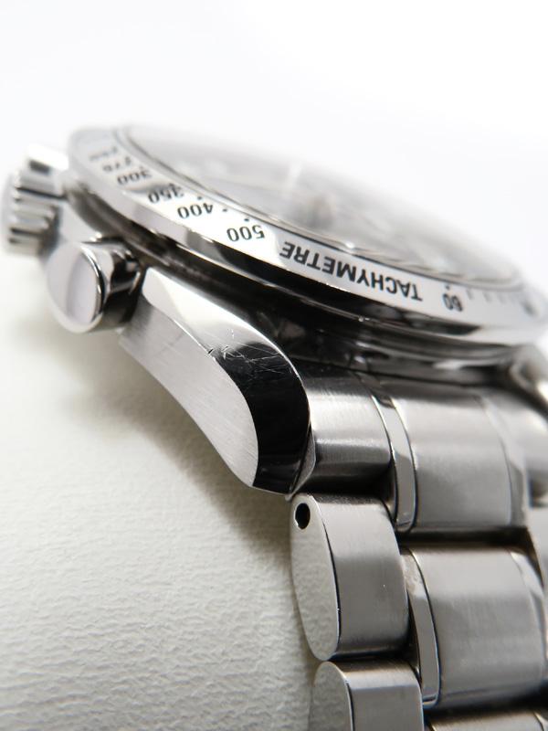 【日本限定モデル】 3ヶ月保証 メンズ 【中古】 自動巻き h06AB 『スピードマスター トリプルカレンダー』 3523.51 【OMEGA】 b06w/ オメガ
