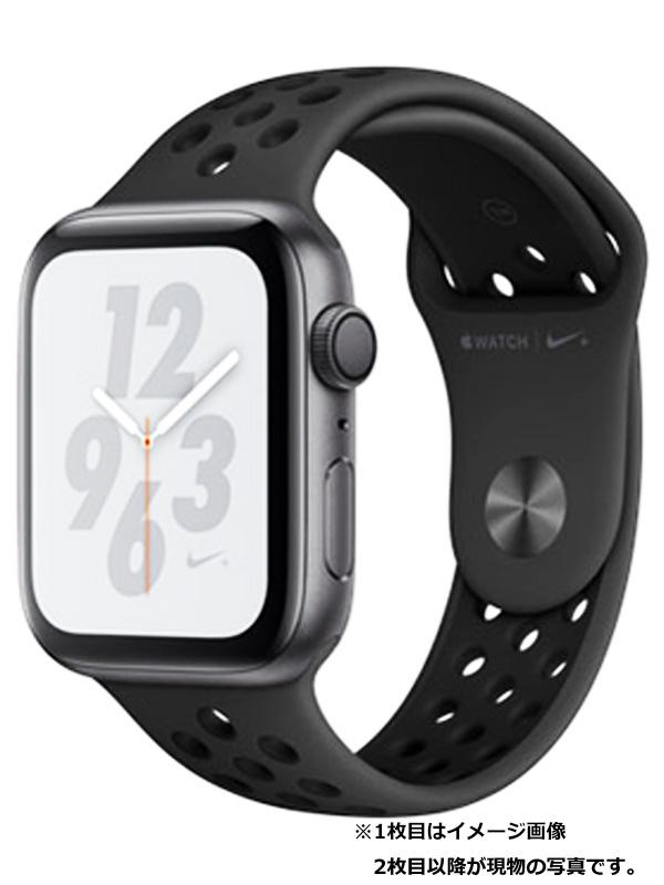 【Apple】【アップルウォッチ シリーズ4】【美品】アップル『Apple Watch Nike+ Series4 GPSモデル 44mm』MU6L2J/A メンズ スマートウォッチ 1週間保証【中古】b05w/h10SA
