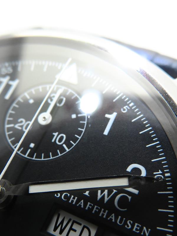 IWC インターナショナルウォッチカンパニー パイロットウォッチ フリーガー クロノグラフ IW370603 メンズ 自動巻き 3ヶ月保証b03w h03AB5j4L3AR