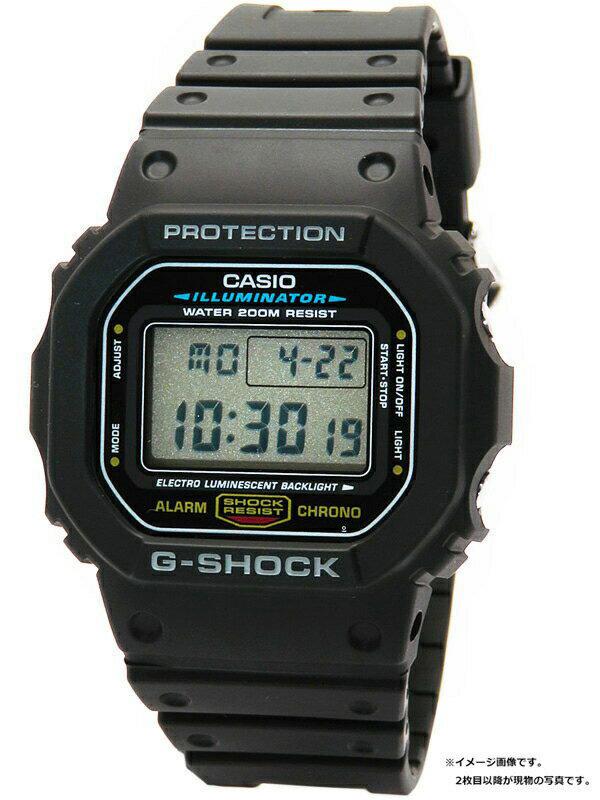 【CASIO】【G-SHOCK】カシオ『Gショック』DW-5600E-1 ボーイズ クォーツ 1週間保証b02w/h03B:高山質店
