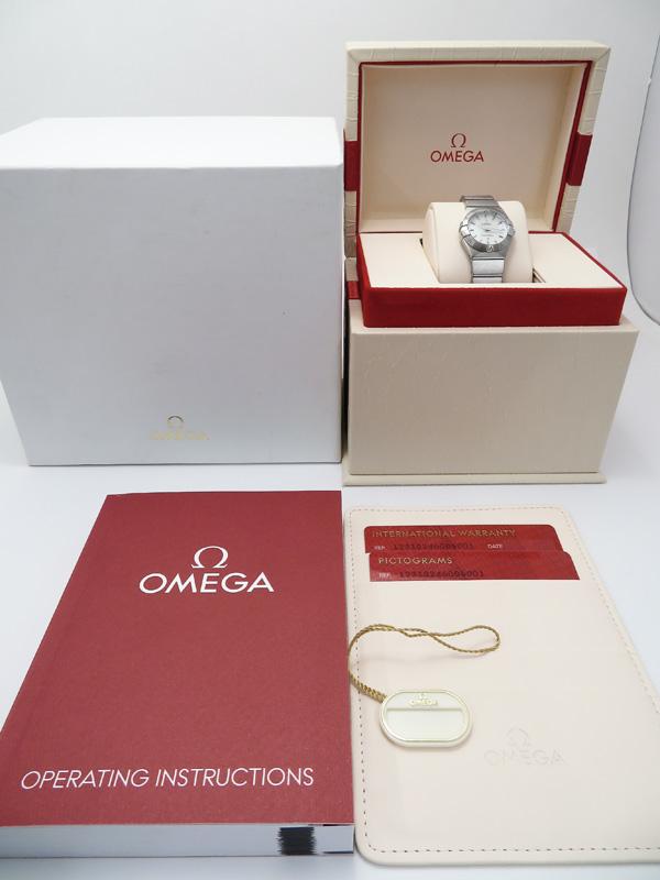 OMEGA電池交換済 オメガ コンステレーション ブラッシュ 123 10 24 60 05 001 レディース クォーツ 3ヶ月保証b01w h02AhQtsxdrC