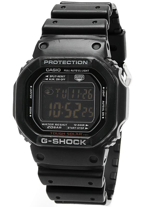 【CASIO】【G-SHOCK】カシオ『Gショック ブラックスポッツ』G-5600RB-1 ボーイズ ソーラークォーツ 1週間保証【中古】b05w/h10B