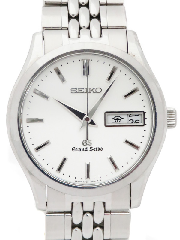 【SEIKO】【GS】セイコー『グランドセイコー』SBGT001 69****番 メンズ クォーツ 1ヶ月保証【中古】b02w/h03BC