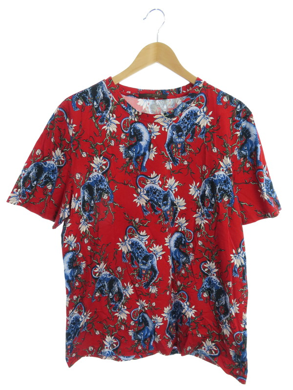 【LOUIS VUITTON】【イタリア製】ルイヴィトン『半袖Tシャツ sizeXL』RM161 JIE H9Y80W メンズ カットソー 1週間保証【中古】b03f/h12AB