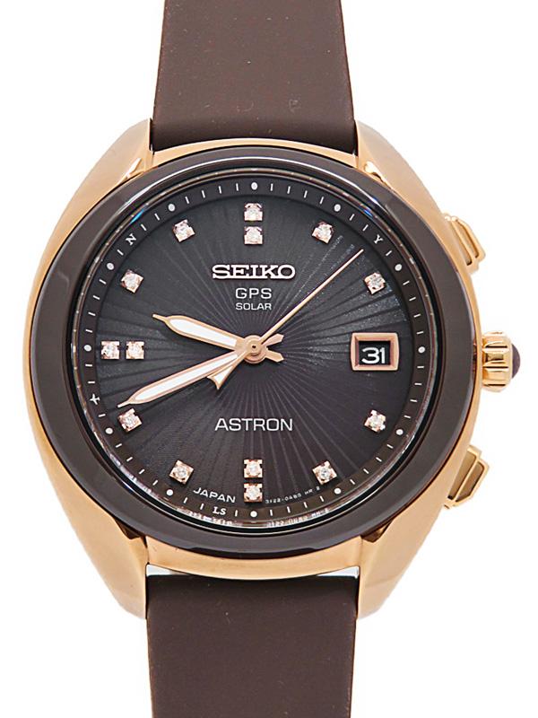 【SEIKO】【'20年購入】セイコー『アストロン コアショップ限定 ダイヤ』STXD004 3X22-0AA0 95****番 ボーイズ ソーラー電波GPS 3ヶ月保証【中古】b05w/h10A