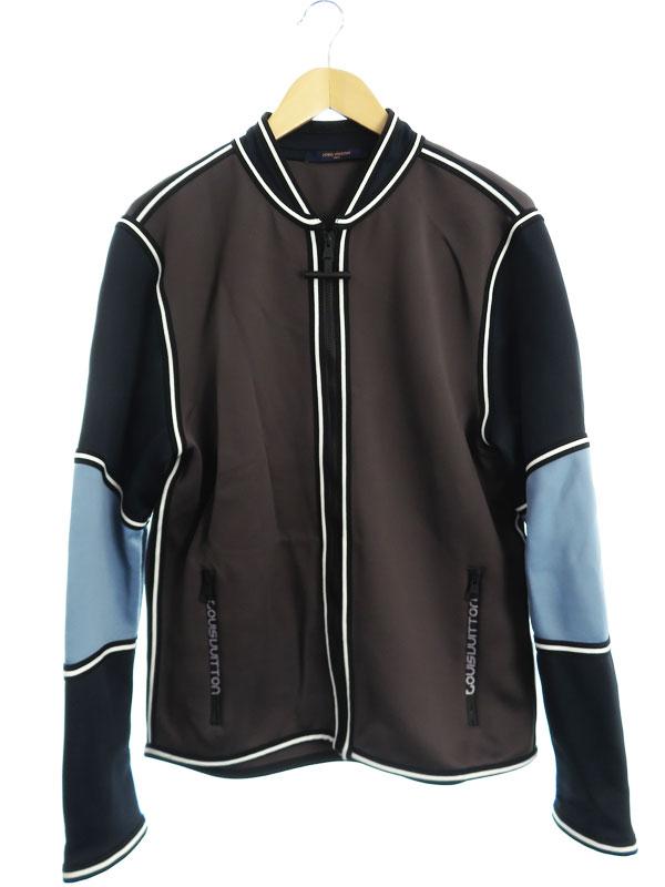 【Louis Vuitton】【イタリア製】【アウター】ルイヴィトン『ジップアップジャケット sizeXL』RM181 GCY HEY65W メンズ ブルゾン 1週間保証【中古】b01f/h19B