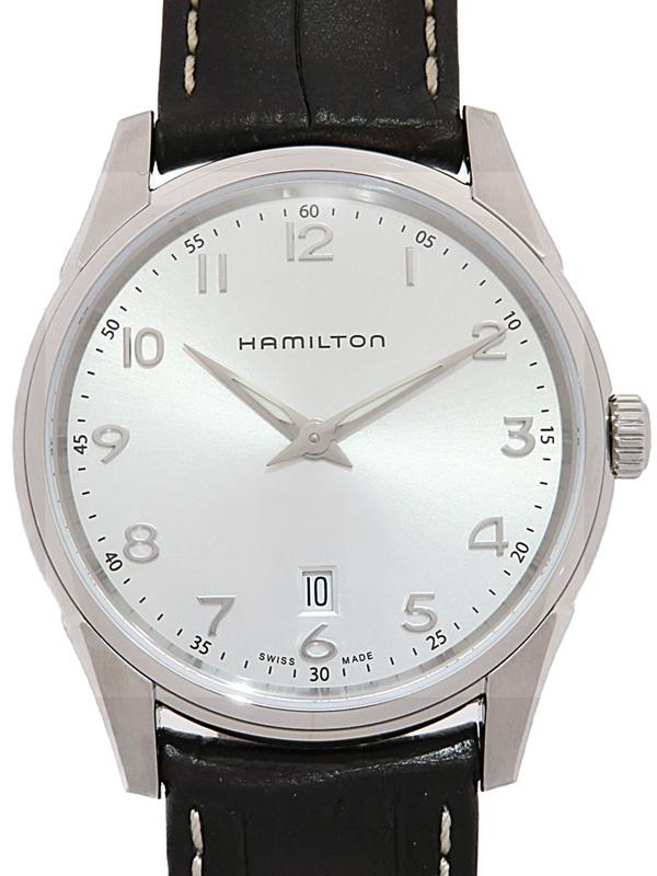 【HAMILTON】【美品】ハミルトン『ジャズマスター シンライン』H38511553 メンズ クォーツ 1週間保証【中古】b03w/h07SA