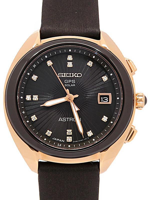 【SEIKO】【'20年購入】セイコー『アストロン コアショップ限定 ダイヤ』STXD004 3X22-0AA0 99****番 ボーイズ ソーラー電波GPS 3ヶ月保証【中古】b01w/h10A
