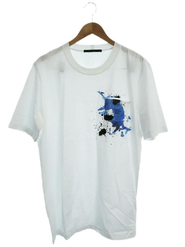 【LOUIS VUITTON】【イタリア製】【トップス】ルイヴィトン『半袖Tシャツ sizeXL』RM172M JOB HDY22W メンズ カットソー 1週間保証【中古】b01f/h12AB