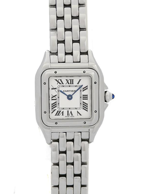 【Cartier】【電池交換・仕上済】カルティエ『パンテールSM』WSPN0006 レディース クォーツ 6ヶ月保証【中古】b03w/h12A