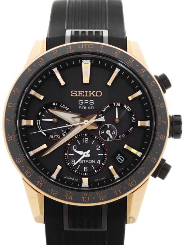 【SEIKO】セイコー『アストロン』SBXC006 5X53-0AB0 89****番 メンズ ソーラー電波GPS 3ヶ月保証【中古】b03w/h14A
