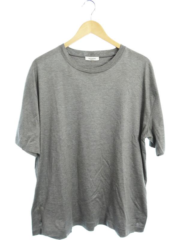 【VALENTINO】【スタッズ付】【イタリア製】【トップス】ヴァレンティノ『半袖Tシャツ』メンズ カットソー 1週間保証【中古】b03f/h15AB
