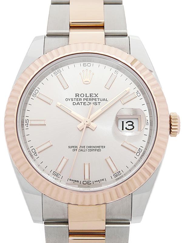 【ROLEX】ロレックス『デイトジャスト41』126331 ランダム番 メンズ 自動巻き 12ヶ月保証【中古】b05w/h10A