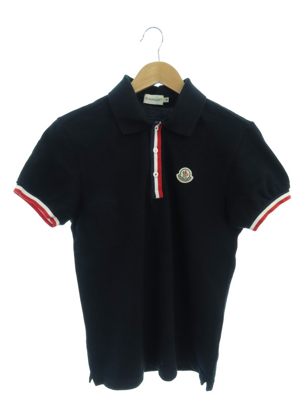 【MONCLER】【トップス】モンクレール『半袖ポロシャツ sizeM』メンズ 1週間保証【中古】b05f/h02AB