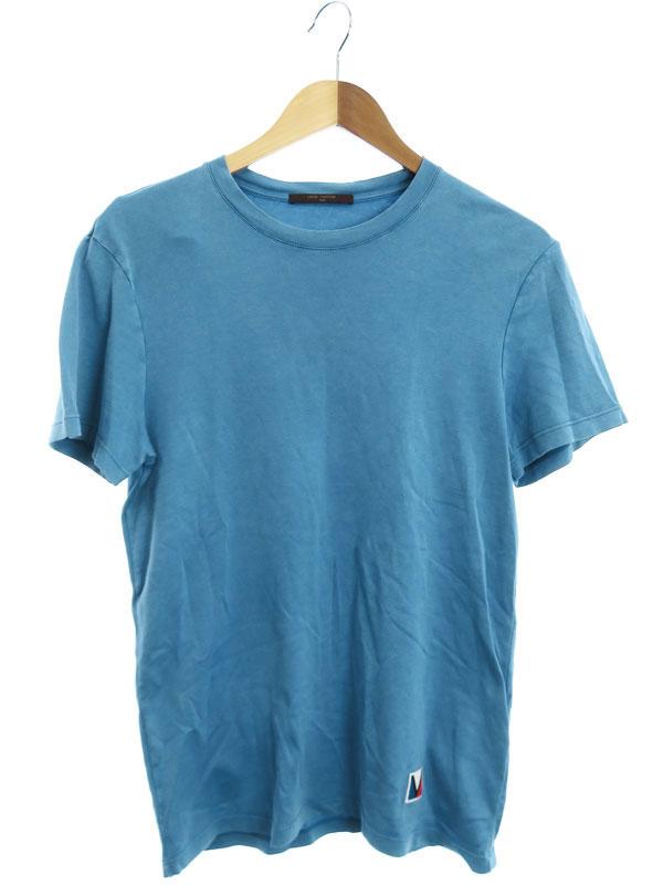 【LOUIS VUITTON】【イタリア製】【トップス】ルイヴィトン『半袖Tシャツ sizeXS』RM131M H3JR08JU8 メンズ カットソー 1週間保証【中古】b05f/h07AB