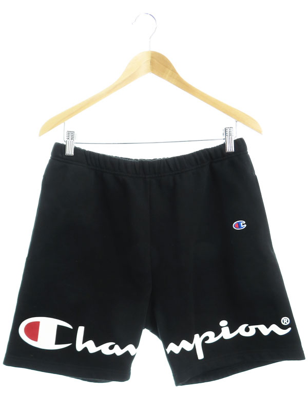 【Supreme】【Champion Sweatshort】【ボトムス】シュプリーム『スウェット 裏起毛ショートパンツ sizeSMALL』18SS メンズ 1週間保証【中古】b03f/h10AB