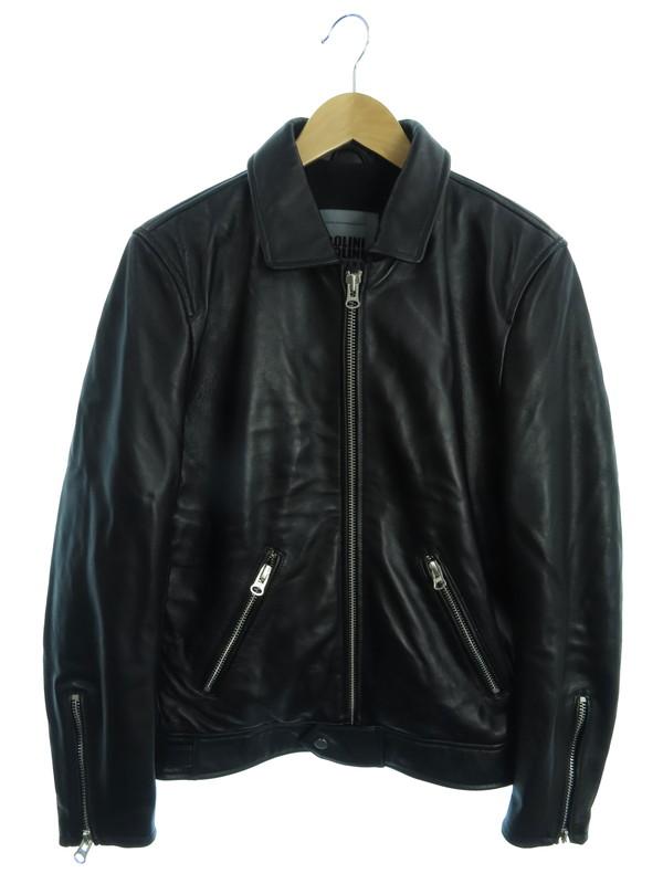 【BOLINI】【ボリニ】【アウター】ノーブランド『レザージャケット size46』メンズ 1週間保証【中古】b03f/h02AB