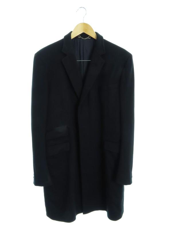 【GUCCI】【イタリア製】【アウター】グッチ『チェスターコート size50 R』メンズ 1週間保証【中古】b01f/h22AB