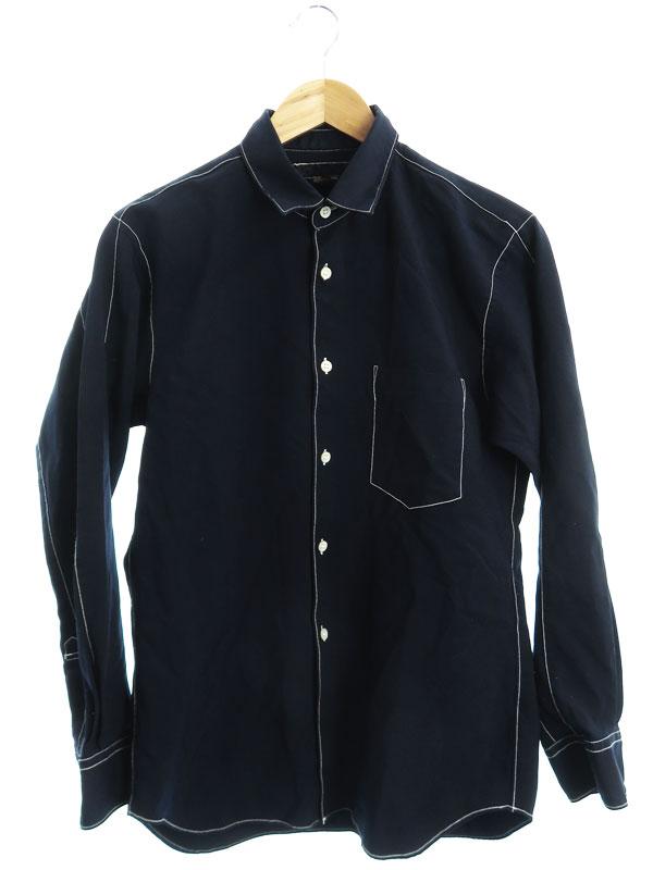 【COMME des GARCONS SHIRT】【フランス製】【トップス】コムデギャルソンシャツ『長袖シャツ sizeXS』W23068 メンズ 1週間保証【中古】b01f/h07AB