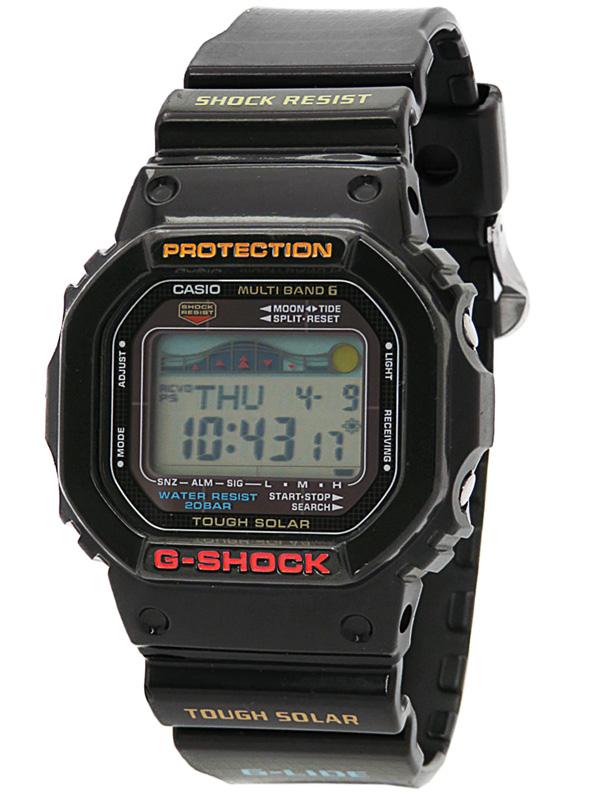【CASIO】【G-SHOCK】カシオ『Gショック Gライド』GWX-5600-1 ボーイズ ソーラー電波クォーツ 1週間保証b