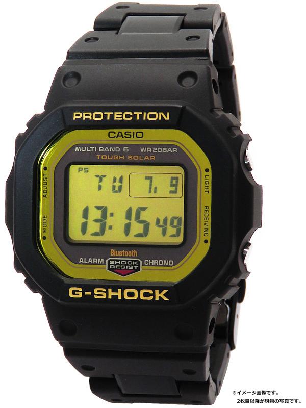 【CASIO】【G-SHOCK】【モバイルリンク】カシオ『Gショック』GW-B5600BC-1JF ボーイズ ソーラー電波クォーツ 1週間保証【中古】b06w/h19A