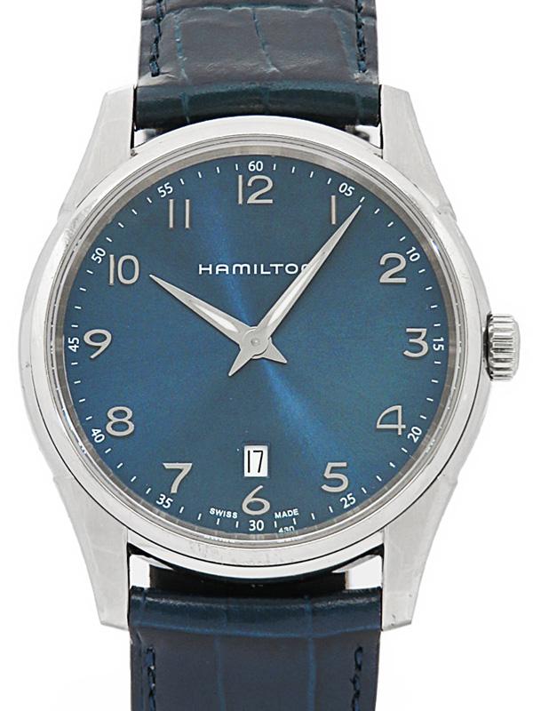 【HAMILTON】ハミルトン『ジャズマスター シンライン』H38511743 メンズ クォーツ 1週間保証b01w/h11B:高山質店