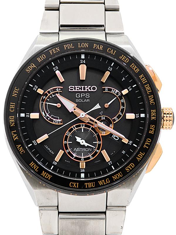 <title>SEIKO セイコー アストロン SBXB125 8X53-0AV0 76 番 メンズ ソーラー電波GPS 3ヶ月保証 最新アイテム 中古</title>