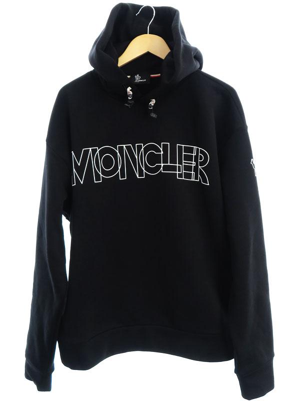 公式 MONCLER グルノーブル ルーマニア製 トップス モンクレール MAGLIA sizeXL 2020 メンズ 裏起毛スウェットプルオーバーパーカー 中古 セール開催中最短即日発送 1週間保証