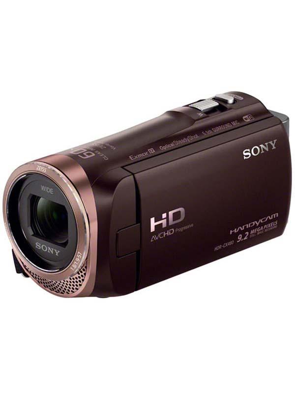 ソニー『ハンディカム』HDR-CX480(T) ブラウン 32GB 光学30倍 Wi-Fi NFC デジタルビデオカメラ【新品】b03e/N