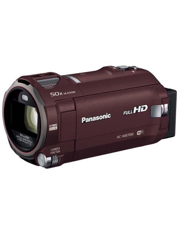パナソニック『デジタルハイビジョンビデオカメラ』HC-W870M-T ブラウン 1MOS 64GB 光学20倍【新品】b03e/N