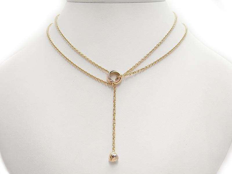 Cartier仕上済 カルティエ ベビートリニティ パンピーユ ネックレス 1週間保証b03j h14SALq4c3R5Aj