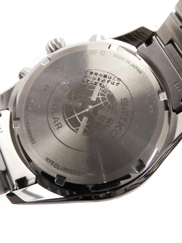 SEIKOASTRON'17年購入美品 セイコー アストロン SBXB085 6O番 メンズ ソーラーGP35AjR4Lq