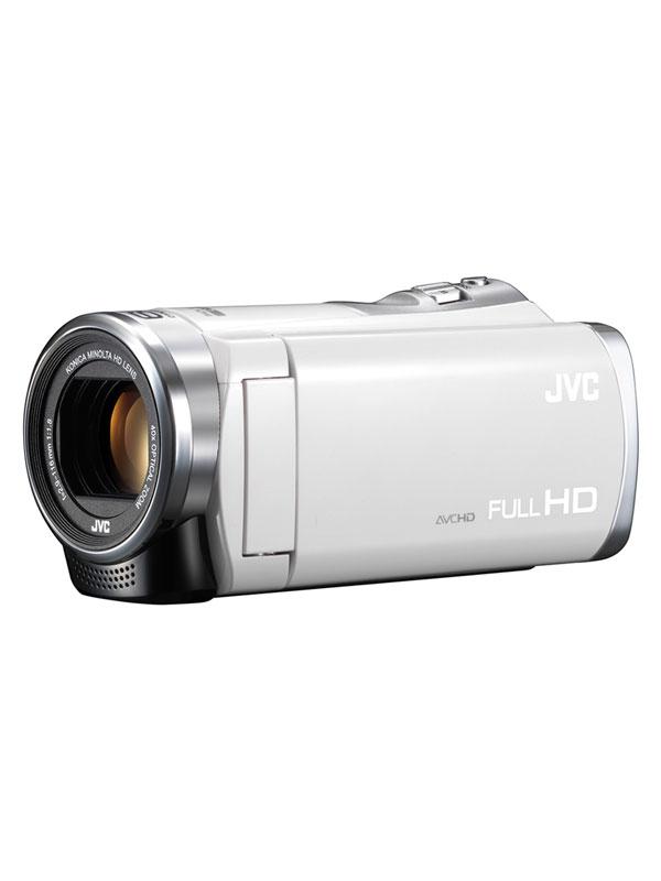 【Victor】ビクター『Everio(エブリオ)』GZ-HM199-W ホワイト 光学40倍ズーム フルHD デジタルビデオカメラ【新品】b00e/N