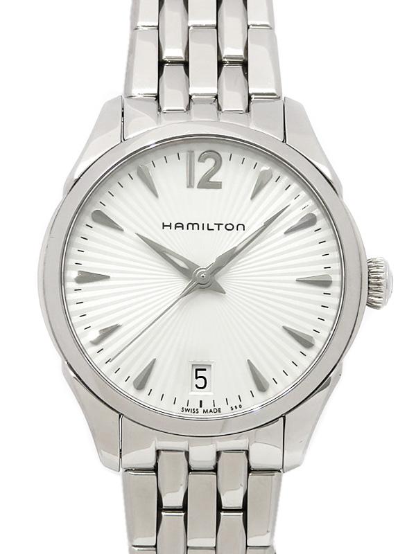 【HAMILTON】ハミルトン『ジャズマスター』H42211155 レディース クォーツ 1週間保証【中古】b03w/h00B