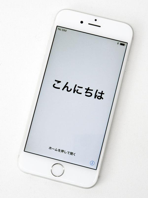 【Apple】【auのみ】アップル『iPhone 6s 128GB au』MKQU2J/A シルバー iOS11.0.3 4.7型 白ロム ○判定 スマートフォン【中古】b03e/h12AB