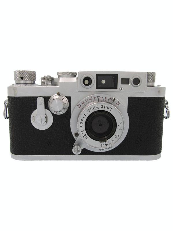 ライカ『IIIg + 赤エルマーL50 F3.5』955036 レンジファインダーカメラ 1週間保証【中古】b03e/h08B