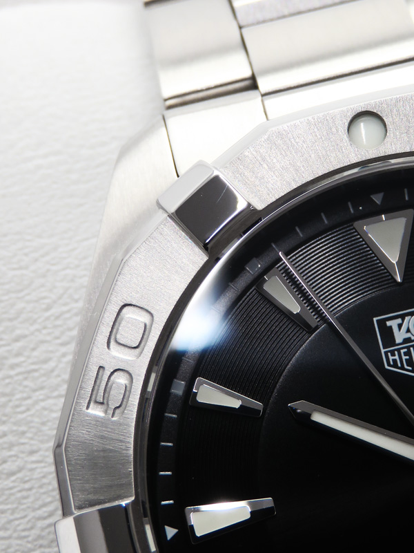 TAG Heuer美品 タグホイヤー アクアレーサー 300m WAY1110 BA0928 メンズ クォーツ 1ヶ月保証v0PN8mnywO