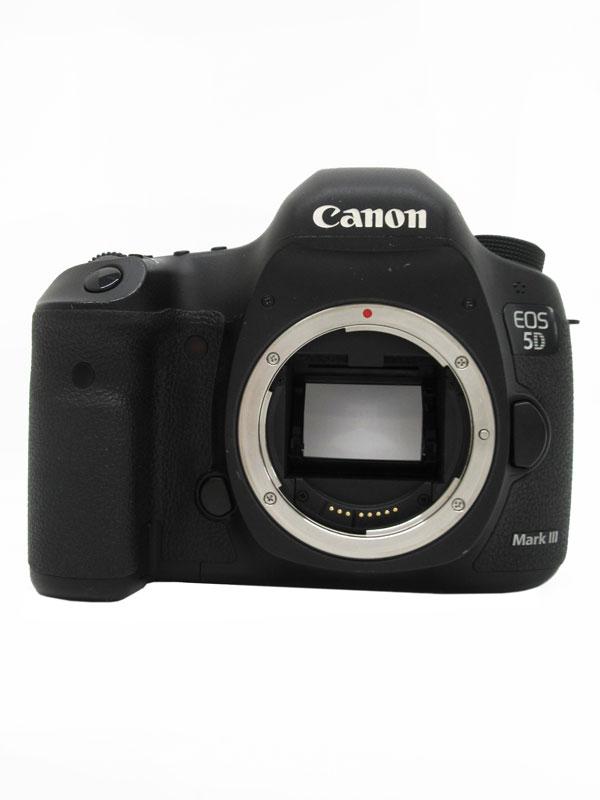 キヤノン『EOS 5D Mark IIIボディー』EOS5DMK3 2230万画素 フルサイズ デジタル一眼レフカメラ 1週間保証【中古】b03e/h12B