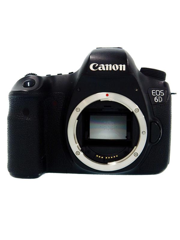 【Canon】キヤノン『EOS 6Dボディー』EOS6DBODY 2020万画素 フルサイズ 無線LAN デジタル一眼レフカメラ 1週間保証【中古】b03e/h12B