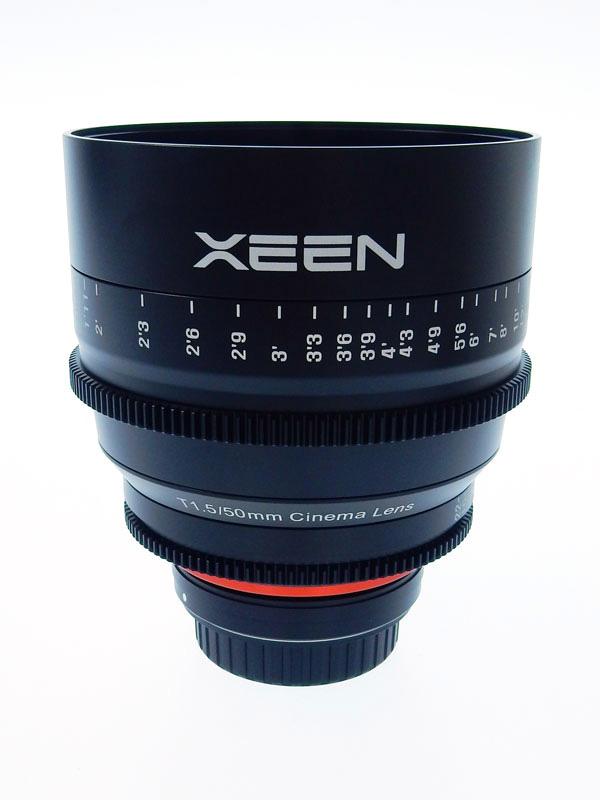 【XEEN】【Canon用】シーン『50mm T1.5 EF』XN50T15EF EFマウント シネマレンズ 1週間保証【中古】b03e/h20A