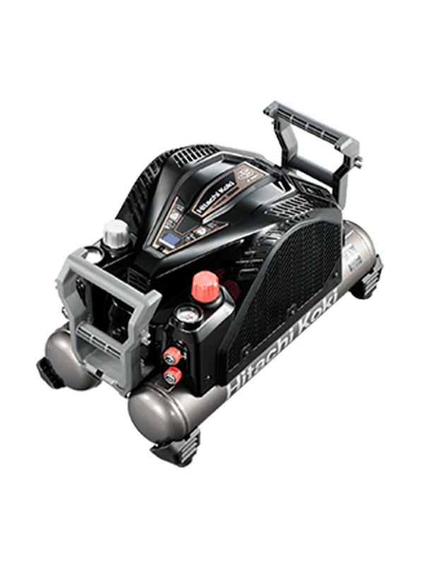 【HiKOKI】日立工機『高圧エアコンプレッサ』EC1445H3(TN) ブラック セキュリティ機能なし 最高45気圧 12Lタンク【新品】b00t/N