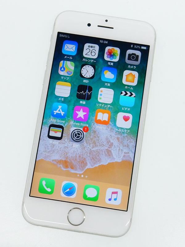 【Apple】【SoftBankのみ】【交換プログラム対象】アップル『iPhone 6s 64GB SoftBank』MKQP2J/A シルバー iOS11.2.2 4.7型 白ロム ○判定【中古】b02e/h03AB