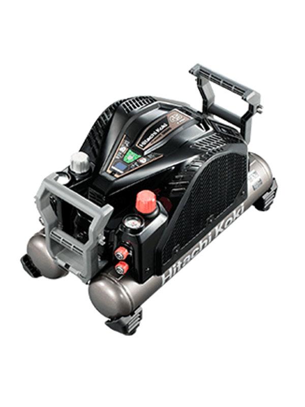 12Lタンク【新品】b00t/N 最高45気圧 セキュリティ機能付 【HiKOKI】日立工機『高圧エアコンプレッサ』EC1445H3 ブラック