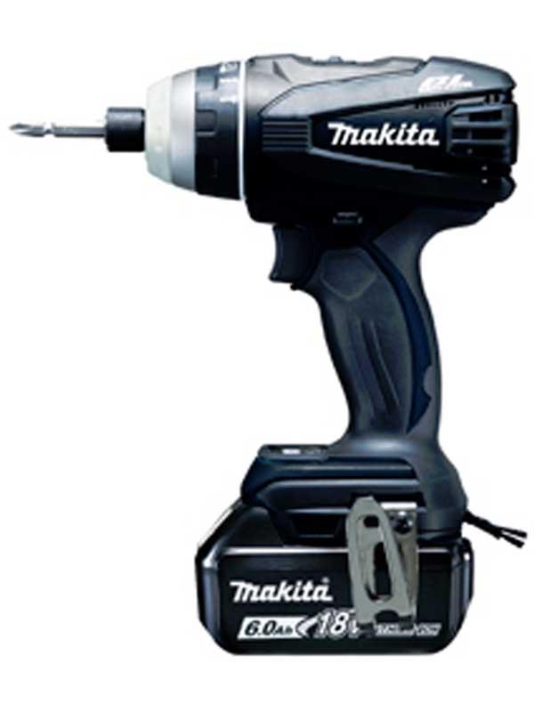 【makita】マキタ『充電式4モードインパクトドライバ』TP141DRGXB 黒 18V 6.0Ah×2 振動 ドリル ネジ締め 1週間保証【新品】b00t/N
