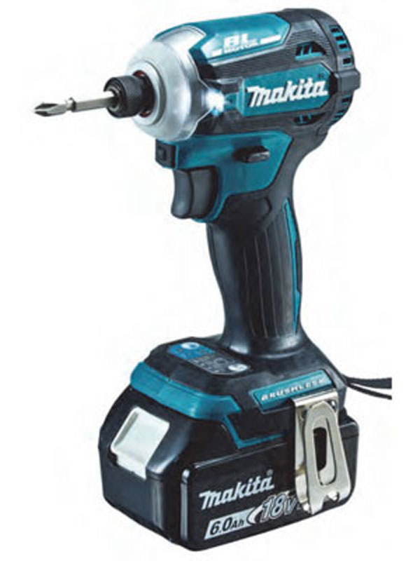 【makita】マキタ『充電式インパクトドライバ』TD171DRGX 青 18V 6.0Ah×2 インパクトドライバー 1週間保証【新品】b00t/N