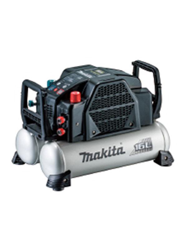 【makita】マキタ『エアコンプレッサ』AC462XGB 黒 46気圧 16Lタンク 一般圧/高圧 静音モード 低振動 高輝度デジタル表示【新品】b00t/N