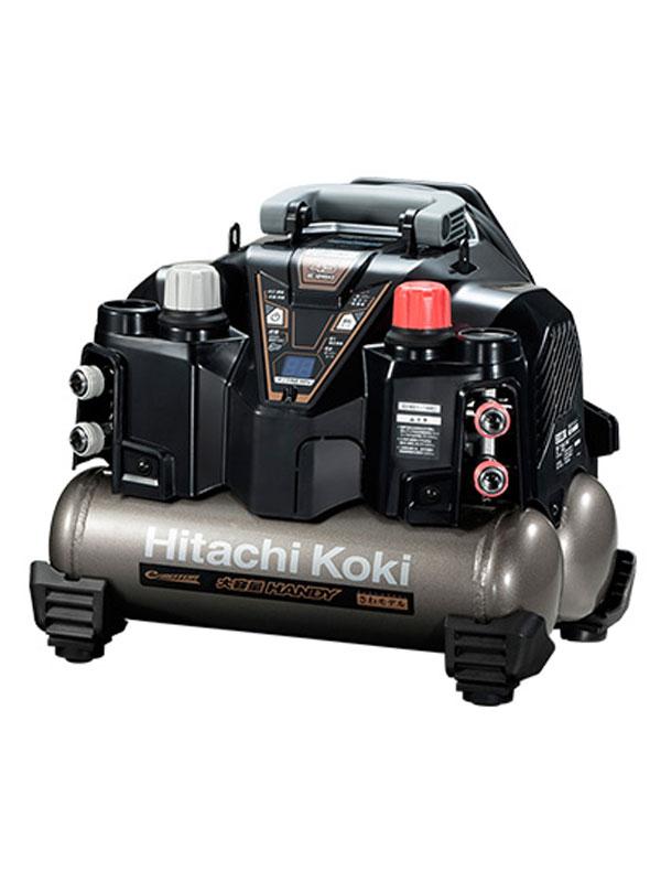 【人気商品】 62dB 最高45気圧 8Lタンク 【Hikoki】日立工機『釘打機用高圧エアコンプレッサ』EC1245H3(TN) さわモデル【新品】b00t/N:高山質店-DIY・工具