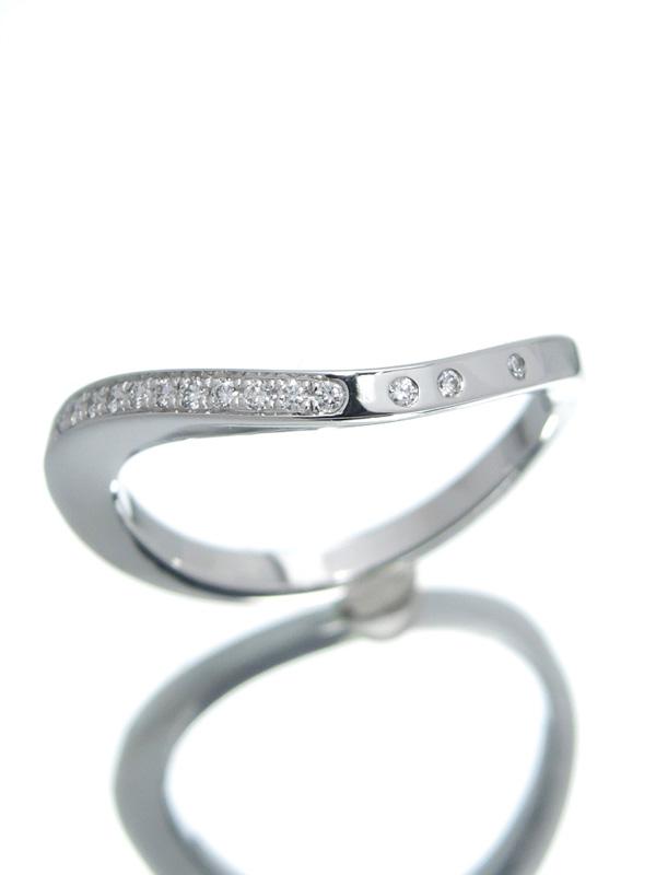 【Cartier】【仕上済】カルティエ『パリ ヌーベルバーグ リング ダイヤ』15号 1週間保証【中古】b01j/h04SA