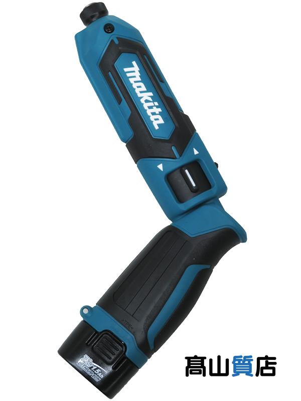 マキタ『充電式ペンインパクトドライバ』TD022DSHX 青 7.2V リチウムイオン1.5Ah 充電器 アルミケース【新品】b00t/N