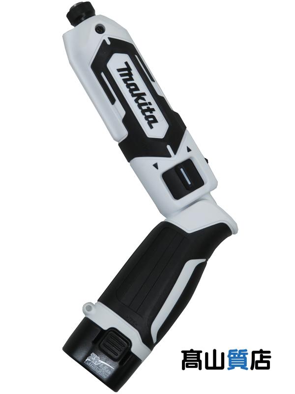 白 充電器 7.2V リチウムイオン1.5Ah アルミケース【新品】 マキタ『充電式ペンインパクトドライバ』TD022DSHXW